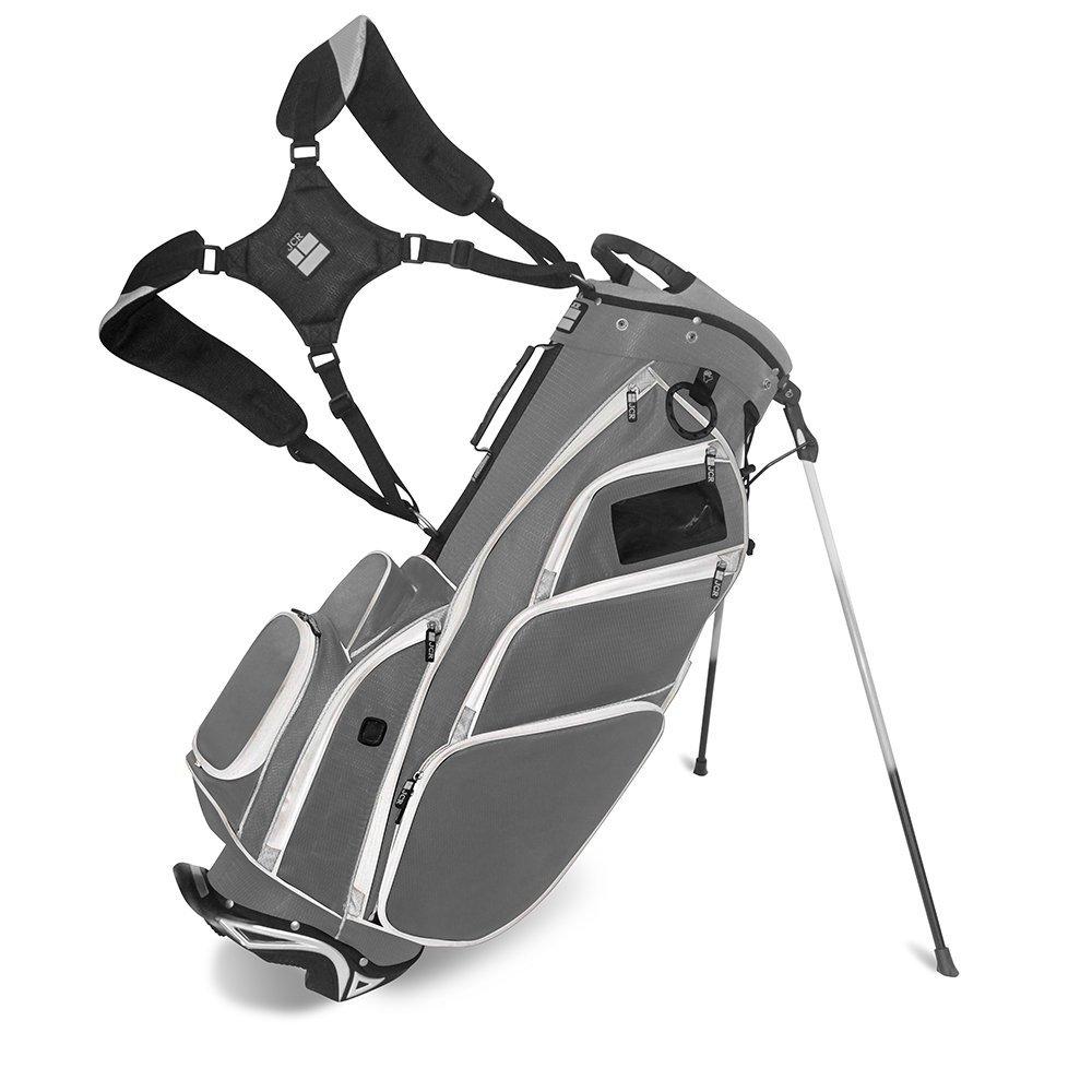 JCRゴルフ550039 dl550スタンドバッグ、チャコール/グレー/ブラック   B0157WCQ7A