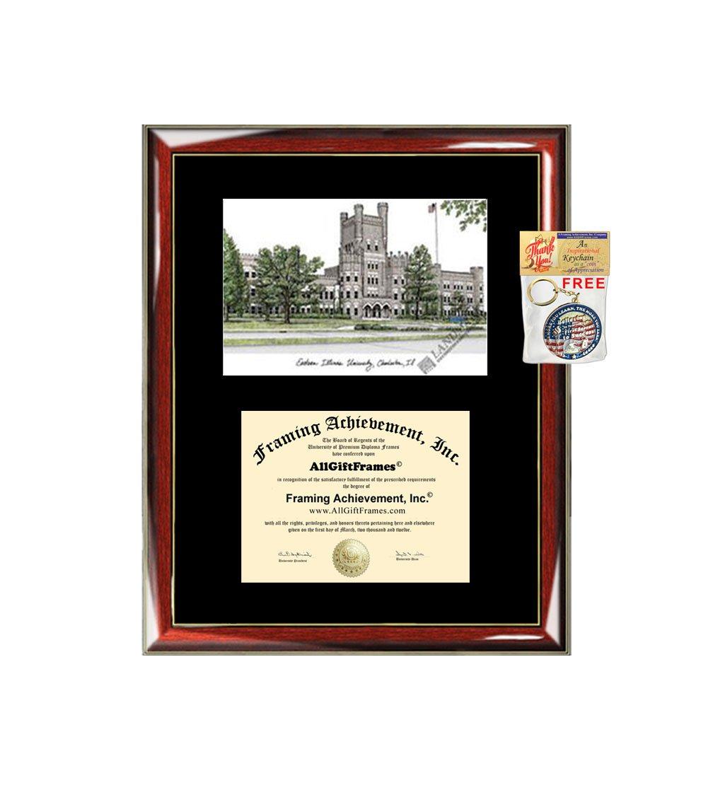 Amazon.com : Eastern Illinois University EIU Diploma Frame ...