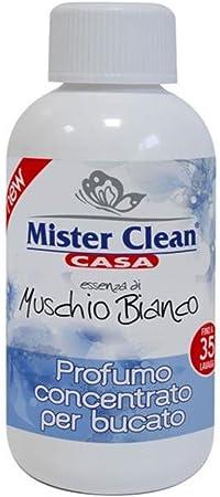 Mister Clean Profumo concentrato per bucato, Muschio Bianco 250 ml