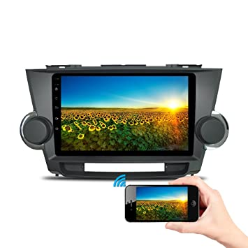 10.1 Android Car Stereo Quad-core 1GB+16GB Video Player for Toyota