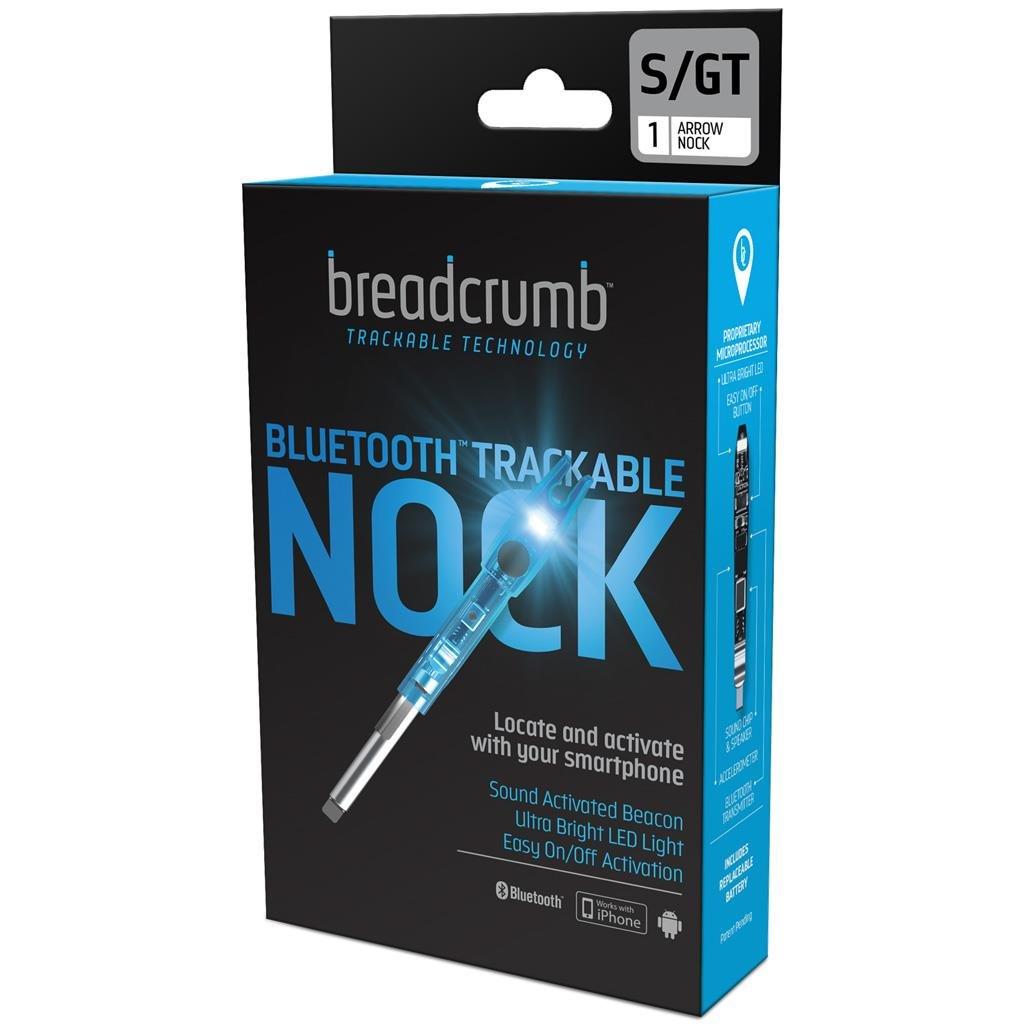 BREADCRUMB Bluetooth Trackable Technology Hunting Arrow Nock, S/GT .244/.246, Single