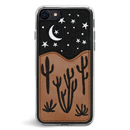 Zero Gravity iPhone 7/8 Nightsky Phone Case - Embroidered Design - 360° Protection, Drop Test Approved