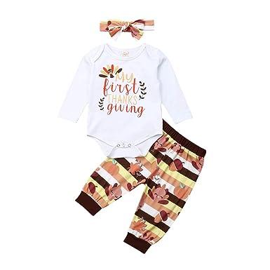 Conjunto de 3 Piezas de chándal para bebé y niña, con Letras ...