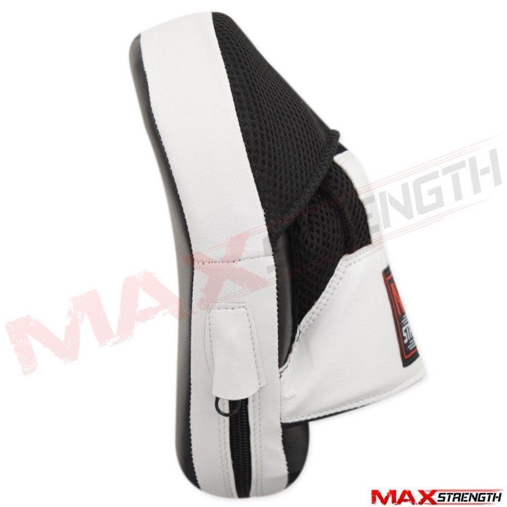 Maxstrength Schlagpolster////Handpratzen /& Boxhandschuhe-Set f/ür Kinder Junior Kickboxen Muay Thai Kampfsport