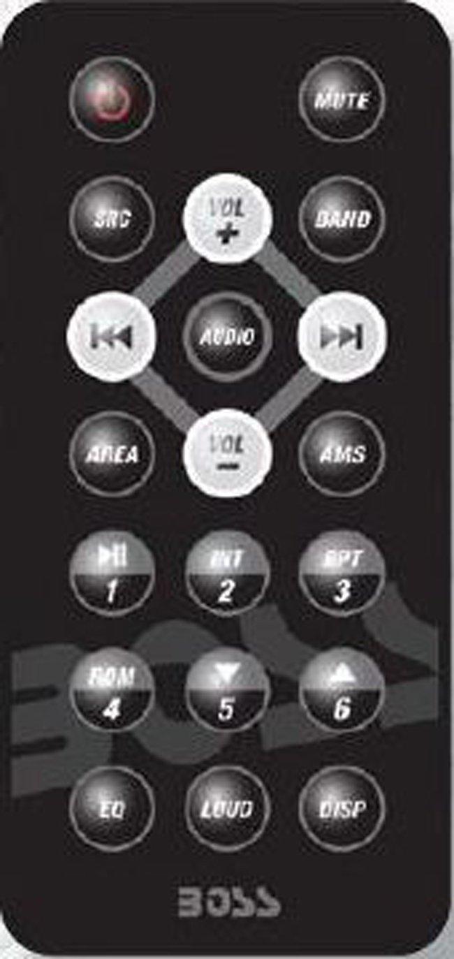 Boss Audio Systems 614UA In-Dash Single-DIN MP3 Compatible Digital Media AM/FM Receiver