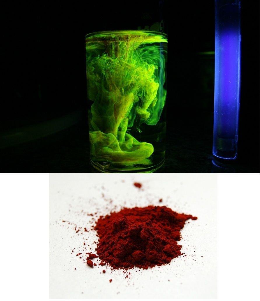 20g de poudre fluoresceine fluo traceur fluorescent materiel plomberie peche