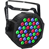 LED Par Lights for Stage Lighting, YeeSite 36 LEDs RGB Stage Lights by Remote and DMX Control for DJ Church Wedding Club Show