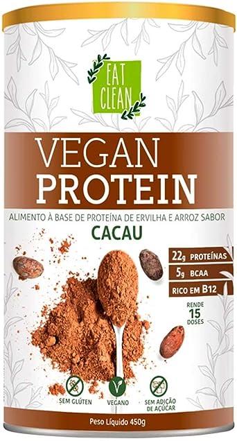 Vegan Protein Cacau Eat Clean Lata 450g