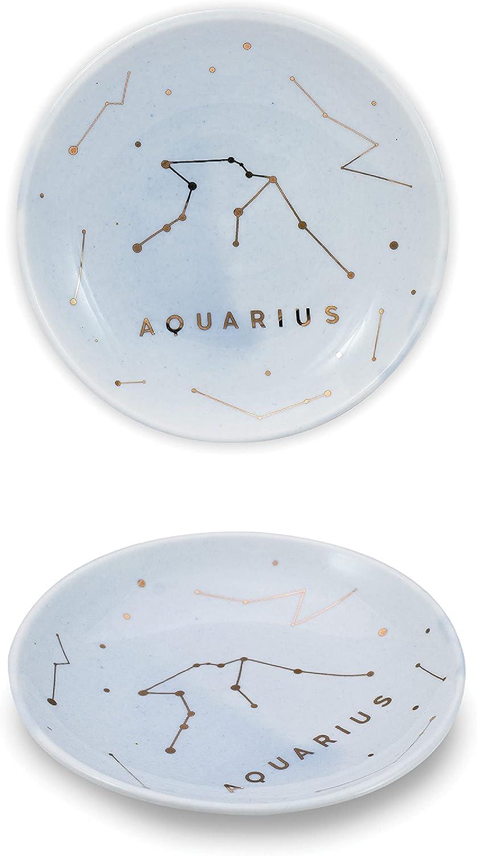 Space Constellation Catch All Tray Star Constellation Zodiac Trinket Tray Zodiac Sign Ring Dish