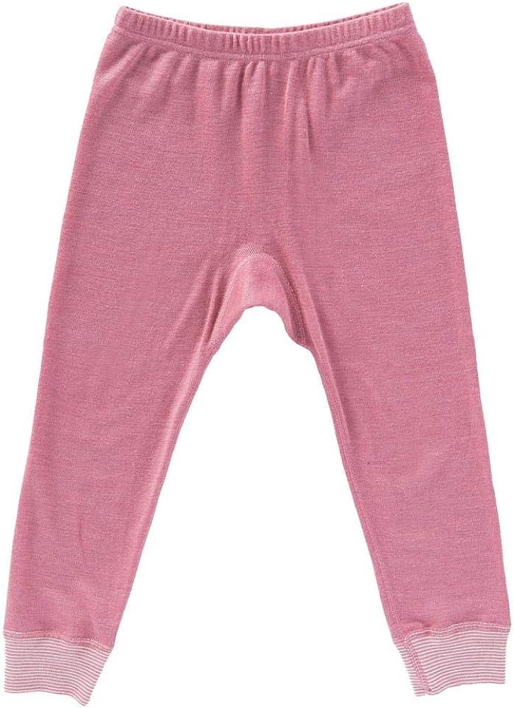 People Wear Organic Baby//Kinder Leggings Bio-Wolle//Seide