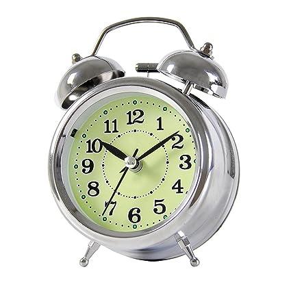 Alarm clock Despertador silencioso, reloj despertador digital Despertador luminoso dormitorio infantil, dos colores opcionales