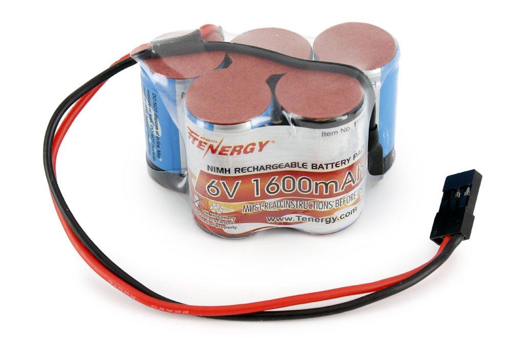 Amazon Tenergy 6v 1600mah Nimh Side By Side Double Hump Battery