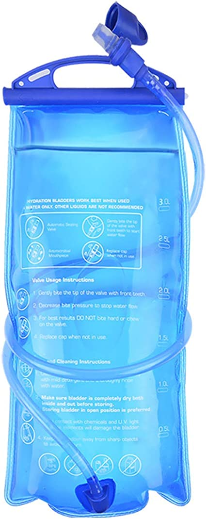 ConchSport Hydration Bladder 2 Liter 70oz Water Bladder for Hydration Backpacks