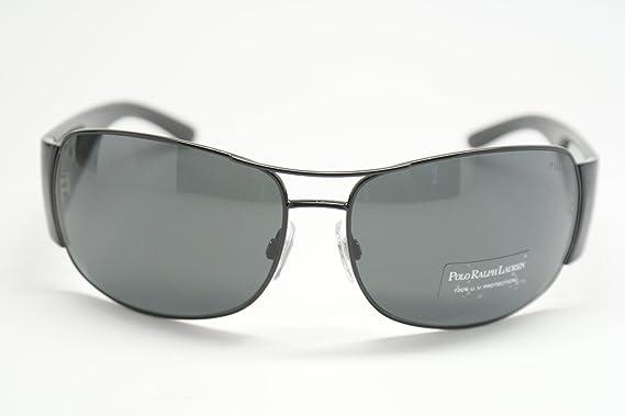 Amazon.com: Polo anteojos de sol PH 3042, negro: Polo Ralph ...