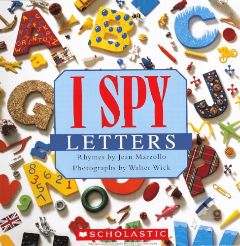 I Spy Letters (Turtleback School & Library Binding Edition) Turtle Alphabet Puzzle