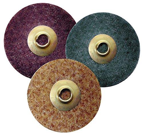 Industrial Grade 24 Grit Pack of 50 Black Griton QA32024 2 Quick Change Sanding Disc