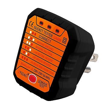 Micro der Netzanschluss Sockel Safety Tester Verkabelung Checker ...