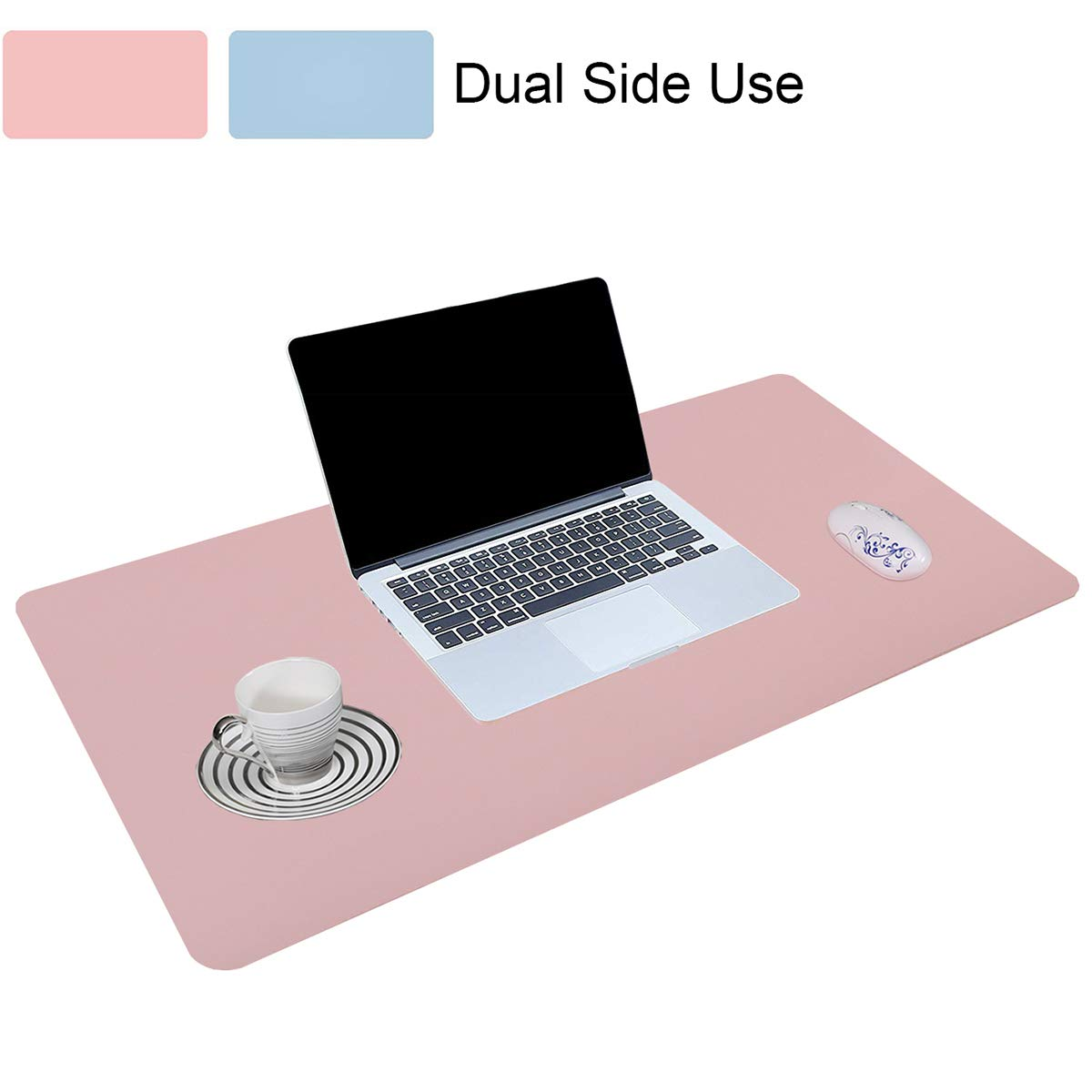 LIDORY Desk Pad with Dual-Side Use,Non-Slip and Waterproof,for Office and Home,31.5