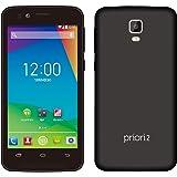 freetel SIMフリー スマートフォン priori2 LTE マットブラック ( Android 4.4 / 4.5inch / microSIM / デュアルSIMスロット / 1GB / ROM 8GB ) FT151A-PR2LTE-BK