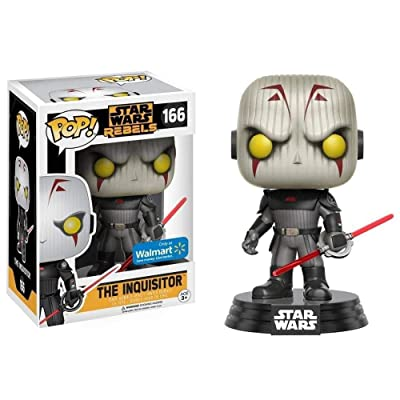 FUNKO POP STAR WARS REBELS WALMART EXCLUSIVE INQUISITOR Vinyl Action figure: Toys & Games