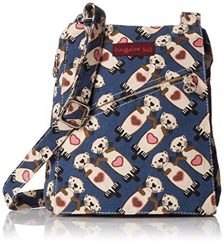 Bungalow 360 Small Messenger Bag (Sea Otter)