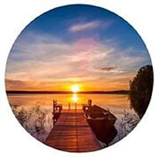 product image for A Good Morning 16 inch Round Wall Art