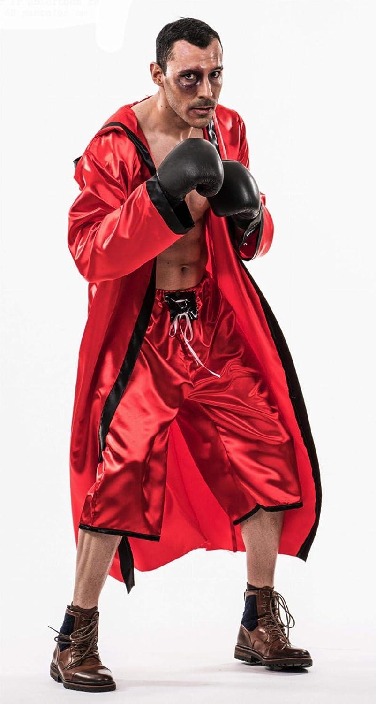 Disfraz de Boxeador Rojo para hombre: Amazon.es: Juguetes y juegos