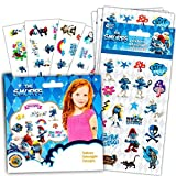 Smurfs Stickers and Tattoos Party Favors Pack -- 104 Stickers and 75 Temporary Tattoos (Smurf Party Supplies)
