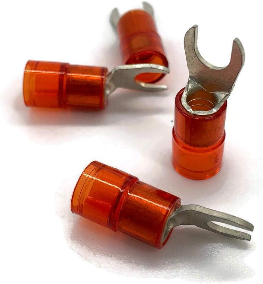 Cosse /à fourche 6mm2 /à 10mm2 Oeillet /à 4 anneaux isol/é M10 Oeillet /à sertir Oeillet /à sertir Oeillet