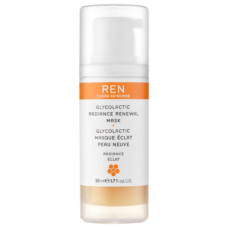 Ren Glycolacticスキンリニューアルピールマスク50ミリリットル (REN) (x2) - REN Glycolactic Skin Renewal Peel Mask 50ml (Pack of 2) [並行輸入品]   B01MTJYL0L