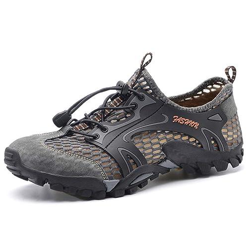Zapatillas de Agua para Hombre BaronHong, Transpirable, Ligera, de Playa, Zapatos para Caminar en el río para Pescar al Aire Libre: Amazon.es: Zapatos y ...
