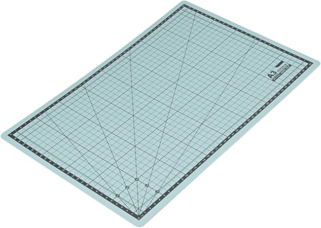 A3 Cutting Mat,A3 Foldable PVC Grid Lines Cutting Board Self-Healing Cut Mat DIY Craft Tool