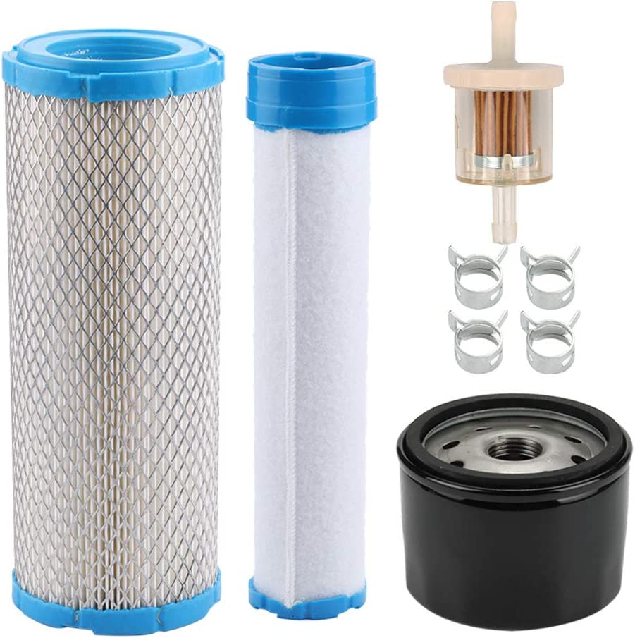 Harbot 11013-7044 11013-7045 Air Filter 49065-7007 Oil Filter for Kawasaki FX651V FX691V FX730V FX751V FX801V FX850V FX1000V 4 Cycle Engine