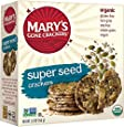 Mary's Gone Crackers Super Seed, 5.5 Ounces (Pack of 12)
