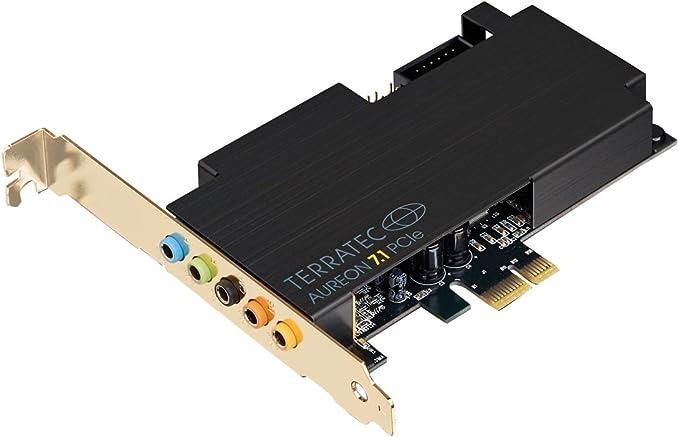 Terratec Aureon 7 1 Pcie Pc Soundkarte Intern 8 Kanal Computer Zubehör