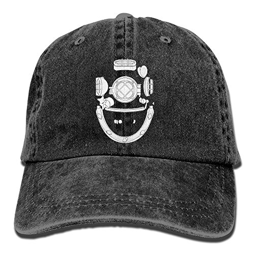 Diver Hat (Kkidj Ooii Cowboy Baseball Caps Men&Women Dad Style Hats Diving Helmet Diver)