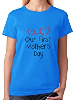 TeeStars - Our First Mother's Day - Mom and Baby Cutest Gift Idea Women T-Shirt