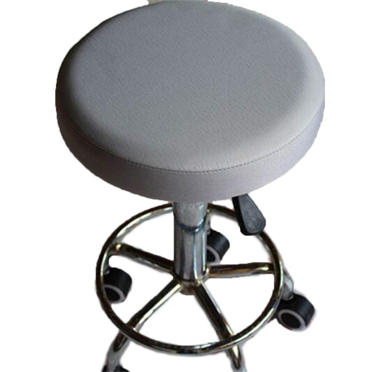 Essencedelight Stool Cover Round Thick Waterproof Barstool Seat Covers Chair Slipcover for Office Commercial Grade