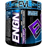 Evlution Nutrition ENGN Pre-workout, 30 Servings, Intense Pre-Workout Powder for Increased Energy, Power, and Focus (Furious Grape) Pikatropin-Free