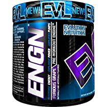 Evlution Nutrition ENGN Pre-workout, Pikatropin-Free, 30 Servings, Intense Pre-WorkoutPowder for Increased Energy, Power, and Focus