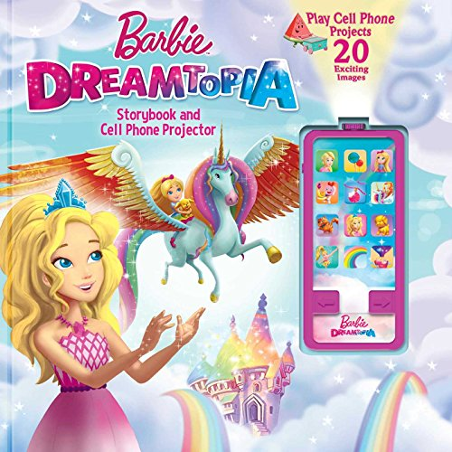 Barbie Phone (Barbie Dreamtopia: Storybook and Cell Phone Projector (Movie Theater))