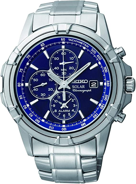 SEIKO (セイコー) 腕時計 海外モデル SSC141P1 ソーラークロノ メンズ[逆輸入品]