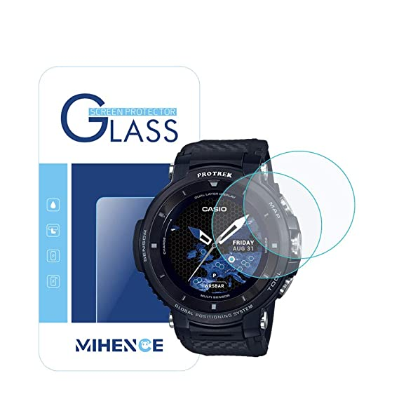 Amazon.com: [ 2-Pack ] for Casio WSD-F30 Screen Protector ...