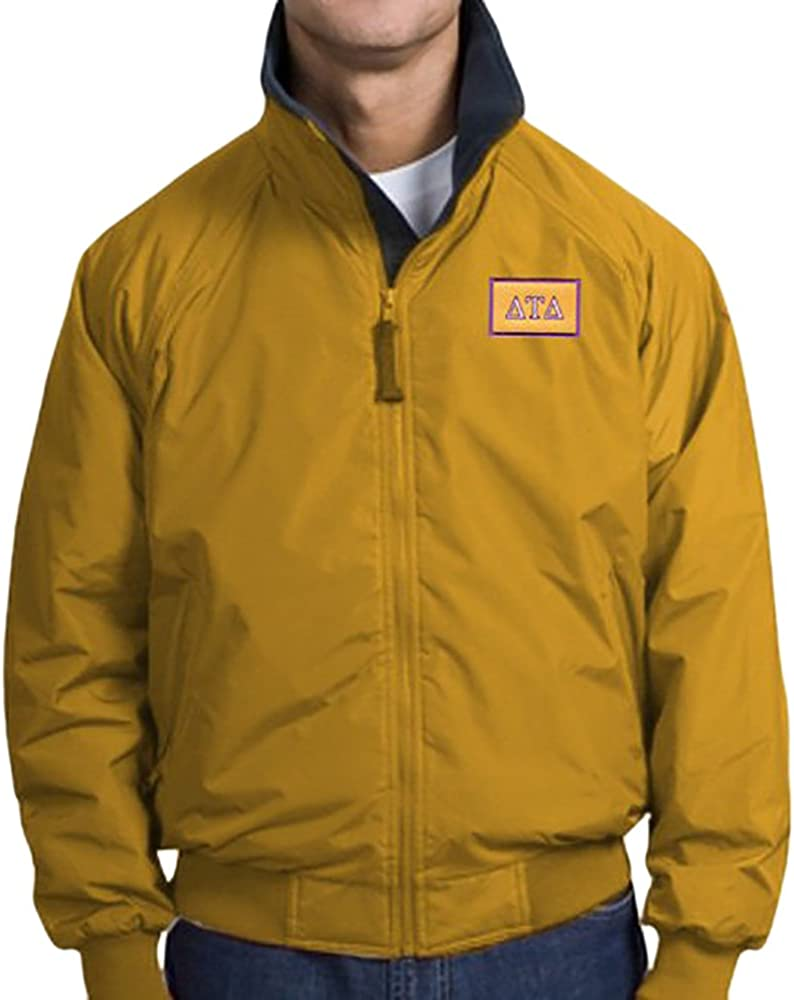 Delta Tau Delta DTD Flag Patch 3 Season Challenger Jacket
