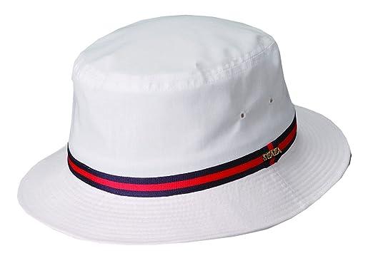 279e195c9 Amazon.com: DPC Global Men's Cotton Bucket Hat -White-Medium: Clothing