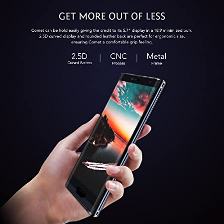 MAZE Comet Smartphone 4 g mit 5,7-Zoll-Bildschirm: Amazon.de: Elektronik