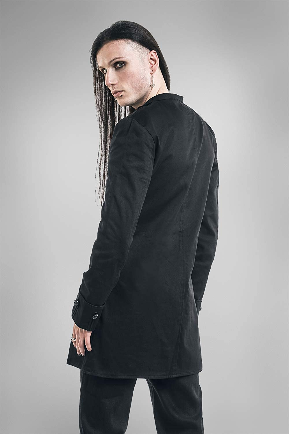 Gothicana by EMP The Vampire of Time and Memory Chaqueta de Uniforme Negro 3XL: Amazon.es: Ropa y accesorios