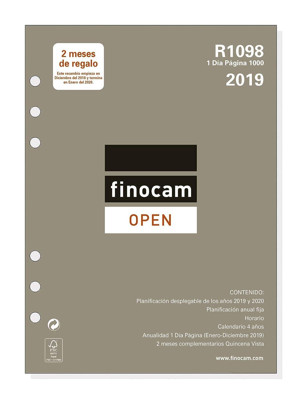 Recambio anual 2019 español