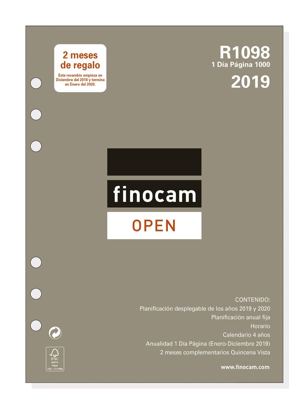 Recambio anual 2019 español: Amazon.es: Oficina y papelería