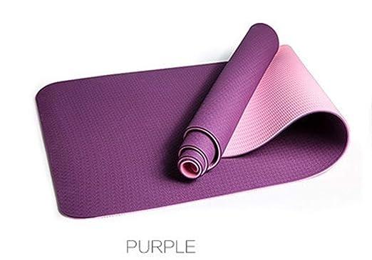 Antideslizante 1830 * 610 * 6MM TPE Yoga Mat Colchonetas de ...